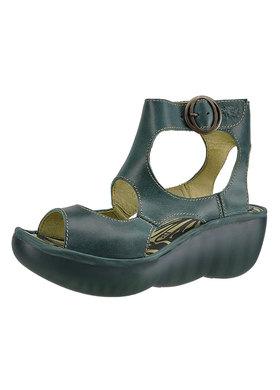 Sandálky FLY London Bulbo Bimb P500369003-petrol