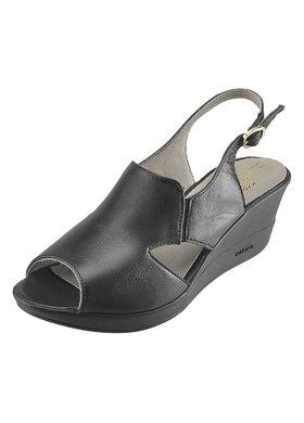 Sandálky na klínu Karino 1239-076-P