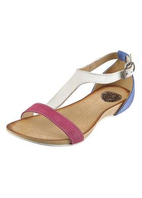 Pastelové sandálky Carinii B1674-A40