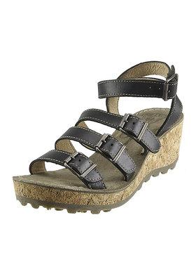 Sandálky na klínu FLY London Glam Gala P143143004