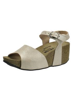Sandálky na korkovém klínu Plakton 273104