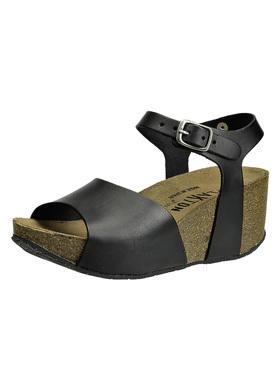 Sandály na korkovém klínu Plakton 273104