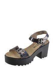 Sandálky na hrubém podpatku Plakton