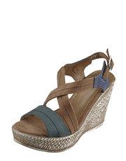 Sandálky na klínku Simen