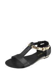 Sandály se zlatým páskem Carinii