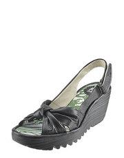 Řasené sandálky FLY London
