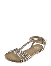 Zlaté sandálky GIOSEPPO