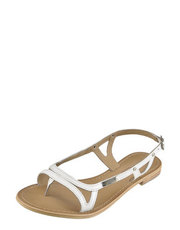 Bílé sandálky Les Tropéziennes