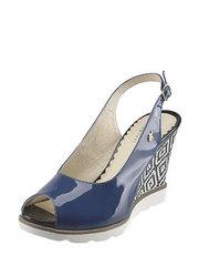 Sandálky na klínu Kordel