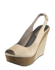 Tělové sandálky na klínu Carinii