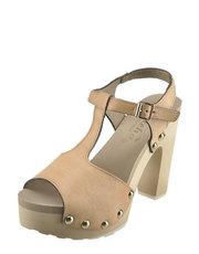 Sandály na hrubém podpatku Mascha