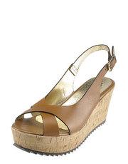 Sandálky na korkovém klínu Hops