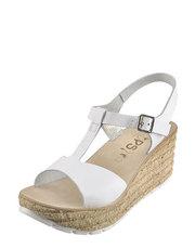 Sandály na korkovém klínu Hops