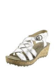 Metalízové sandálky FLY London