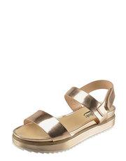 Zlaté sandály na platformě Buffalo