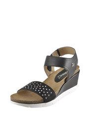 Sandály se zirkony Karino