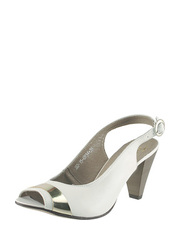 Bílé sandálky Karino