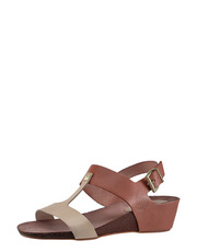 Sandálky na kokovým klínku TakeMe
