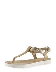 Metalizované sandálky na platformě Fantasy Sandals