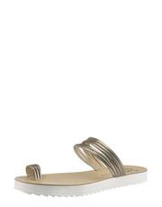 Metalizované žabky na platformě Fantasy Sandals
