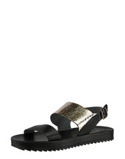 Sandály s kovovým leskem Fantasy Sandals
