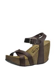 Sandálky na korkovém klínu Plakton