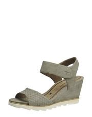 Sandály na vroubkované platfomě Tamaris