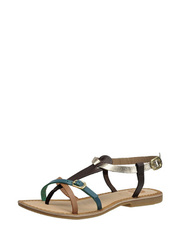 Sandály s kovovým leskem GIOSEPPO