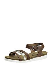 Sandálky na vroubkovaném podpatku Plakton