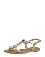 Zlaté sandálky Les Tropéziennes