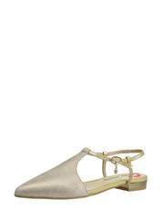 Zlaté sandálky Carinii