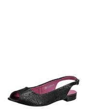 Sandálky z hadí kůže Karino